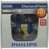 PHILIPS DIAMOND VISION 5000K - H11 [12362DV] - Lampu Mobil